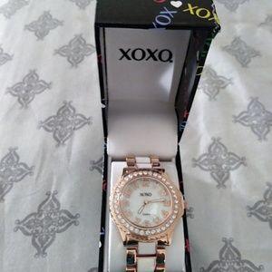XOXO women watch rose tone
